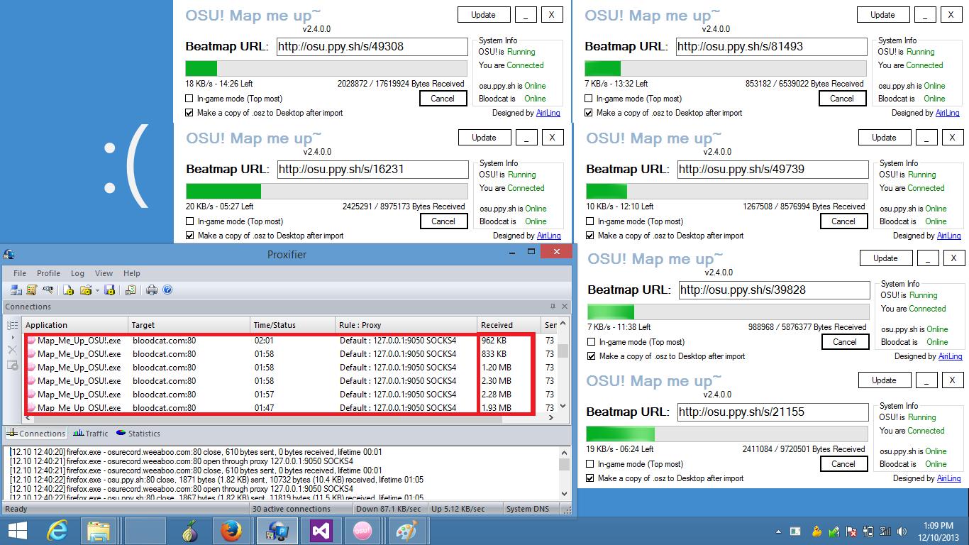 OSU Beatmap downloader [Custom] (Temp update: 4/11/2015