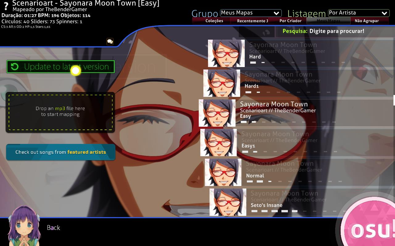 Archived] Empty beatmaps after updating · forums · community | osu!