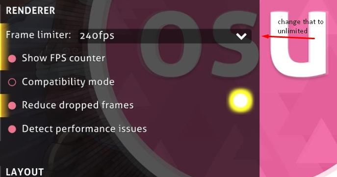 Archived] 60fps limit and 17ms input lag · forums · community | osu!