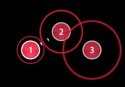 Hit circles